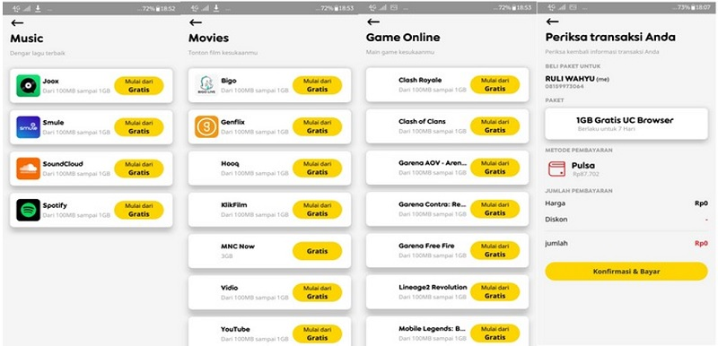 Aplikasi New MyIM3 Makin Segar dan Kekinian, Banyak Gratisan