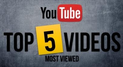 Berita XL: Ini Dia 5 Video YouTube Paling Sering Ditonton