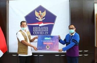 XL Corner:  Donasi Mitigasi Covid-19 Sebesar Rp 10,8 Miliar ke BNPB