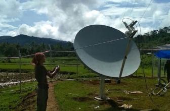 Jaringan Telekomunikasi USO XL Axiata Rambah Sumbawa