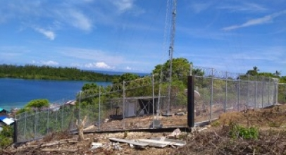 BTS USO XL Axiata di Maluku dan Papua