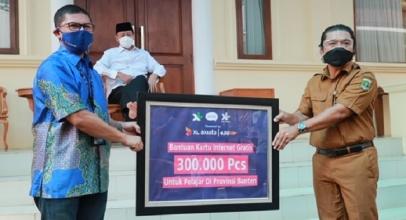 XL Axiata Sebarkan 300 Ribu Paket Data untuk Pelajar Banten