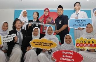 Indosat Ooredoo Gelar Roadshow Program CSR Digital Day #BijakBersosmed