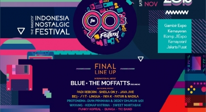 The 90's Festival 2018, Hadirkan Kenangan di Era '90-an