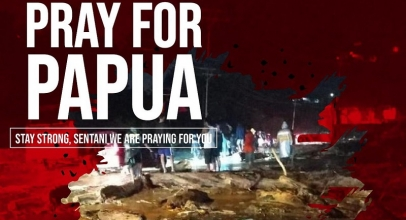 Netizen Berduka, Tagar#PrayForJayapura JadiTrending Topicdi Twitter