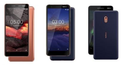 HMD Global Resmi Luncurkan Trio Nokia Baru
