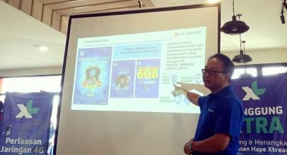 XL Axiata Tingkatkan Kualitas Layanan Data di Sulawesi Utara