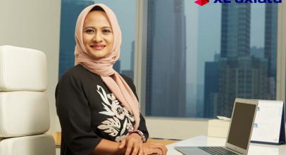 Kisah Dian Siswarini, CEO XL Axiata Yang Pernah Panjat Tower BTS