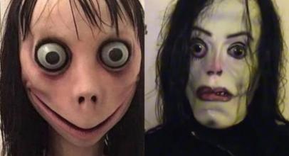 Tiru Momo Challenge, Meme Michael Jackson Teror Media Sosial