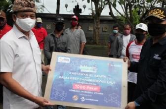 XL Axiata Gelar Donasi Bagi 1000 Nelayan Terdampak Covid-19