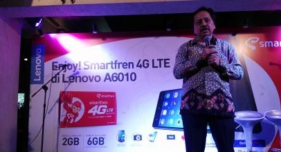 Jurus Jitu Smartfren-Lenovo Raup Pelanggan 4G
