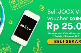 Joox dan Go-Jek Giatkan Kampanye Free Ride Free Music