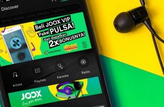 Langganan JOOX VIP Bisa Pakai Pulsa atau Tagihan Telepon Seluler