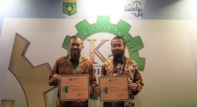 Indosat Ooredoo Raih 2 Award K3 dari Kemnaker