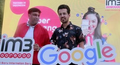 Indosat Ooredoo Meluncurkan Mobile Data Plan bersama Google