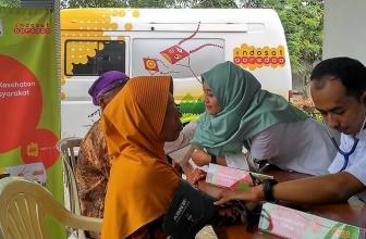 Mobil Klinik Indosat Ooredoo Bertandang ke Madiun