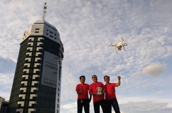 Indosat Ooredoo Tambah Komunitas Drone untuk Karyawan