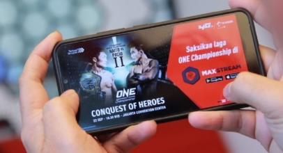 Telkomsel Kerjabareng ONE Championship Perkaya Konten MAXStream