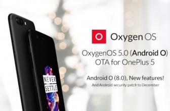 OnePlus 5 Sudah Mendapat Pengkinian Android 8.0 Oreo
