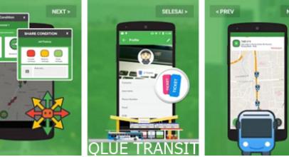 QLUE TRANSIT, Pandu Pengguna Angkutan Umum dengan Mudah