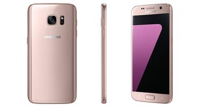 Samsung Galaxy S7 Edge Gold Pink Sudah Muncul