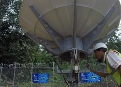 BTS XL Axiata Menancap di Kabupaten Tabalog