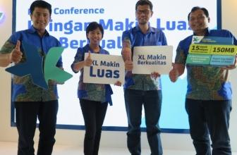 XL HotRod Xtra, Paket Khusus untuk Sumatra, Kalimantan, dan Sulawesi