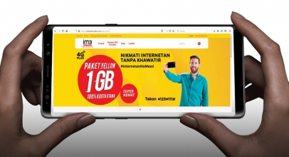 IM3 Ooredoo: Yellow, Paket Data Internet Termurah