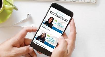 Aplikasi Cakap Bantu Kecakapan Karyawan Industri Perhotelan