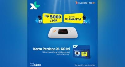 XL Axiata Luncurkan Kartu Perdana Baru XL Go Izi