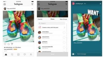 Sekarang Pengguna Instagram Bisa Bagikan Postingan Ke Stories