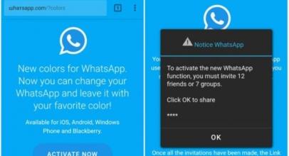 """Hati-Hati! Tautan Scam """"New Colors"""" di WhatsApp Adalah Penipuan"""