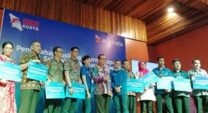 XL Axiata Salurkan Kuota Internet Cepat ke 75 Sekolah di Kepulauan Riau