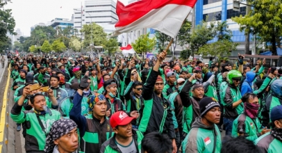 Ini Tanggapan Grab Terkait Aksi Demo Mitra Pengemudi