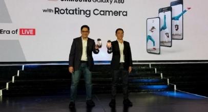 Samsung Galaxy A80 Resmi Melenggang di Indonesia, Harganya?