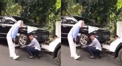 Kocak! Ratna Sarumpaet Marah-Marah Mobilnya Diderek Petugas Dishub, Begini Reaksi Netizen