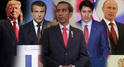 Ini Ponsel Yang Digunakan Jokowi dan Kepala Negara Lainnya