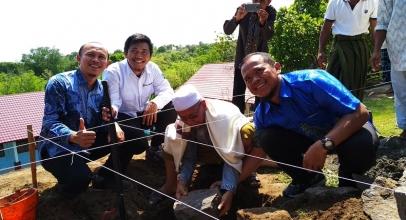 Pasca Gempa, XL Axiata Bangun Gedung Sekolah di Lombok