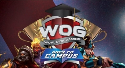 "Smartfren Dukung Kompetisi Game ""World of Gaming Goes To Campus"""