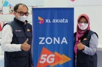 XL Axiata Demo 5G di Empat Kota