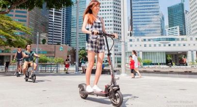 e-Scooter Dilarang Lalu Lalang di Singapura