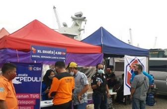 XL Axiata Perkuas Jaringan di Lokasi Pencarian Sriwijaya Air SJ182