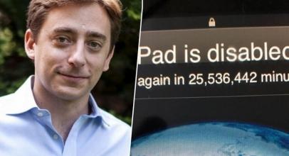 iPad Pria Ini Nge-lock Selama 48 Tahun