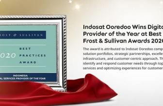 Indosat Ooredoo Terima Penghargaan Frost & Sullivan