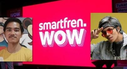 Kaesang dan Atta Bersanding di Smartfren WOW Fest
