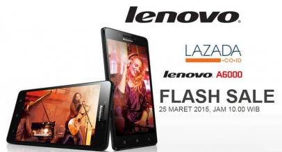 Siap-siap Flash Sale Lenovo A6000 di Lazada