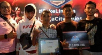 Kompetisi Game Free Fire LinkAja City DIgelar di Yogya