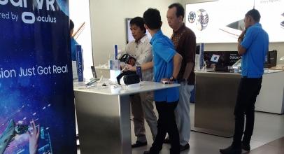 Promo Samsung Goda Pengunjung