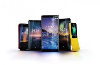 Nokia Perkenalkan Lima Smartphone Baru