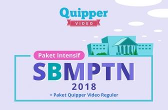 Yuk Belajar dengan Paket Intensif SBMPTN 2018 Quipper
